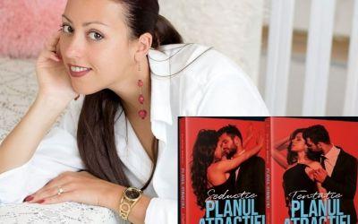 """Interviu cu Flavia Bădic, autoarea cărții  """"Planul atracției"""""""