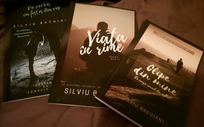 """Interviu cu Silviu Bacuiani, autorul cărții """"Clipe din mine"""""""